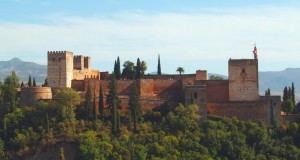 Alcazaba, a fortress for military purposes