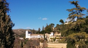 Generalife (view from the terrace of the Parador)