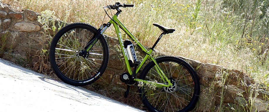 Granada electric bike tours -Infinito eBikes Kona Lava Dome